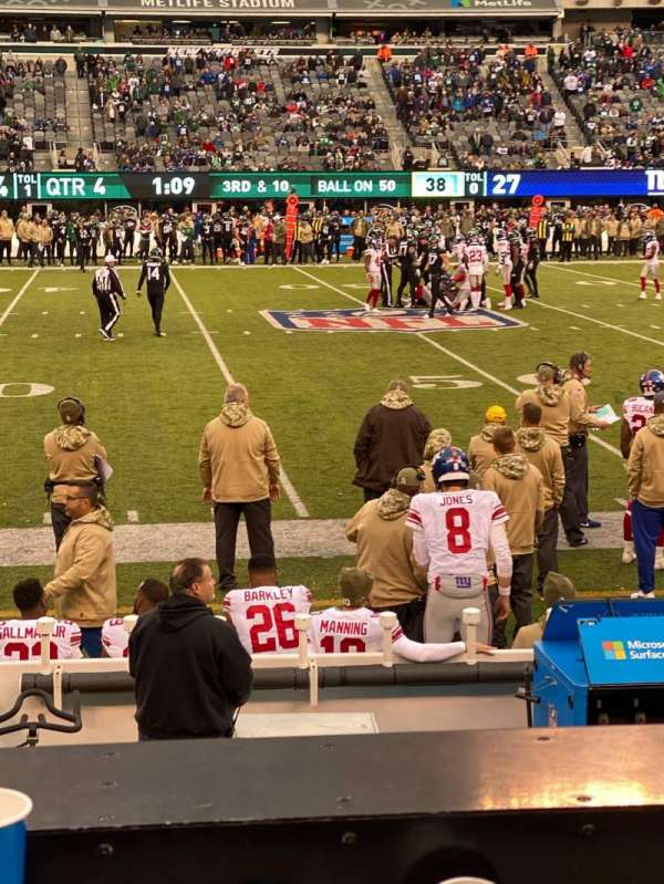 MetLife Stadium, sección: 139, fila: 7, asiento: 31