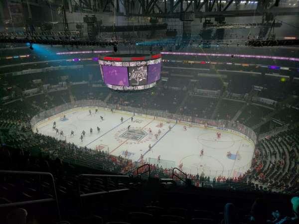 Staples Center, sección: 332, fila: 12, asiento: 19