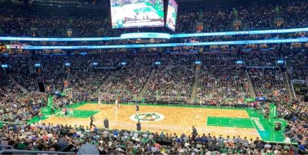 TD Garden, sección: Club 109, fila: F, asiento: 11