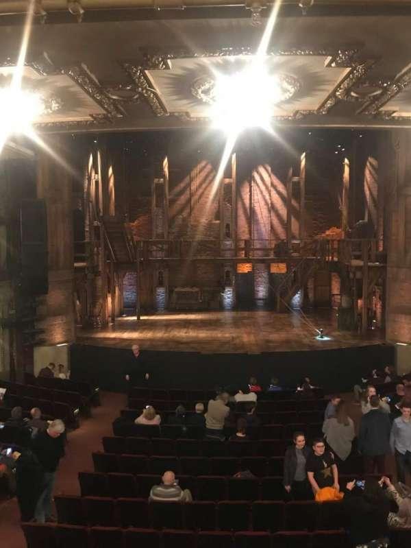 CIBC Theatre, sección: Dress Circle C, fila: A, asiento: 205