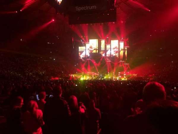 Madison Square Garden, sección: 3, fila: 7, asiento: 1