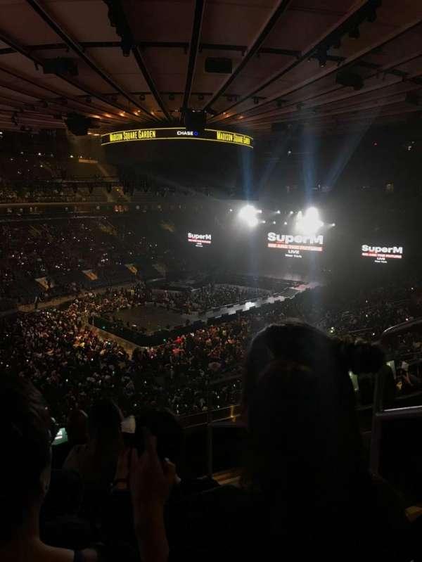 Madison Square Garden, sección: 207, fila: 5, asiento: 19