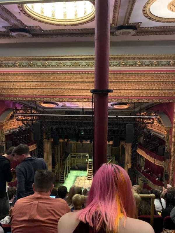 CIBC Theatre, sección: Balcony RC, fila: K, asiento: 408