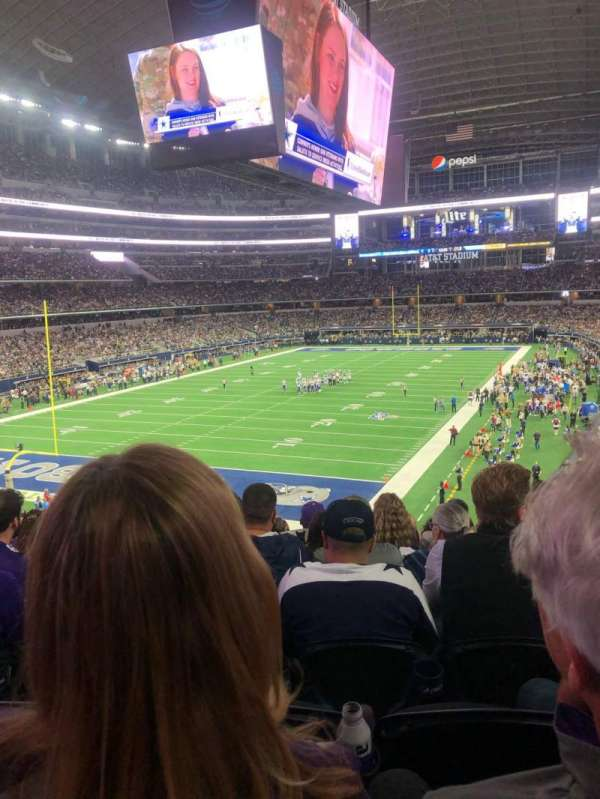 AT&T Stadium, sección: 244, fila: 8, asiento: 11