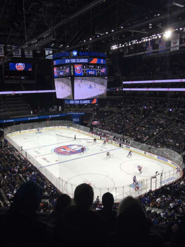 Barclays Center, sección: 219, fila: 4, asiento: 9