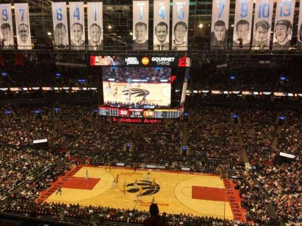 Scotiabank Arena, sección: 308, fila: 9, asiento: 15