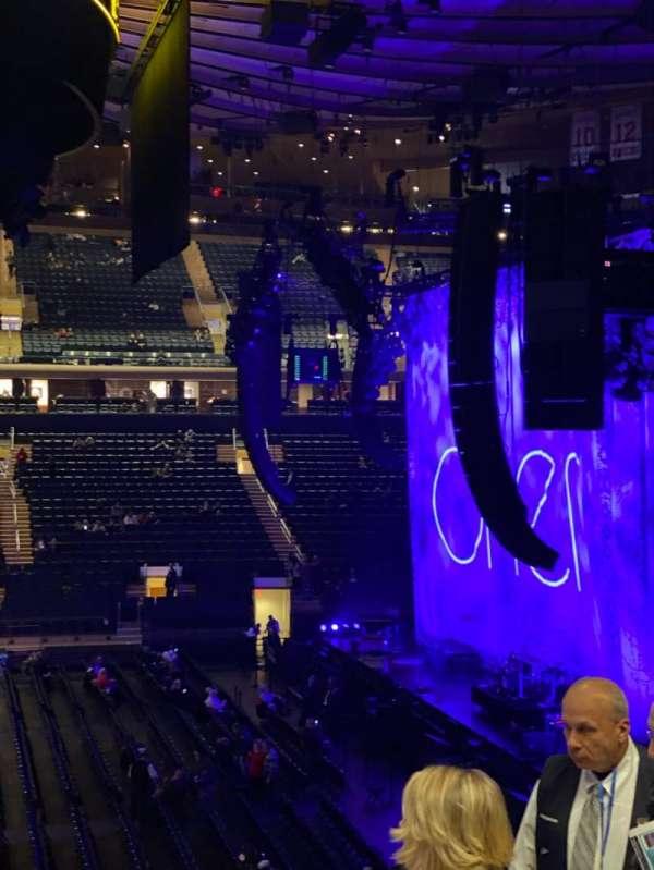 Madison Square Garden, sección: 107, fila: 22, asiento: 20