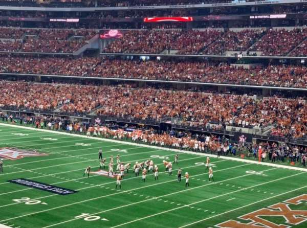 At&T Stadium, sección: 203, fila: 12, asiento: 6