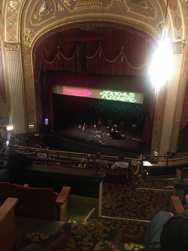 Orpheum Theatre (Memphis), sección: BALCR, fila: D, asiento: 3