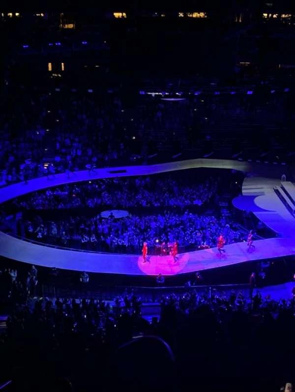 Honda Center, sección: 432, fila: L, asiento: 13