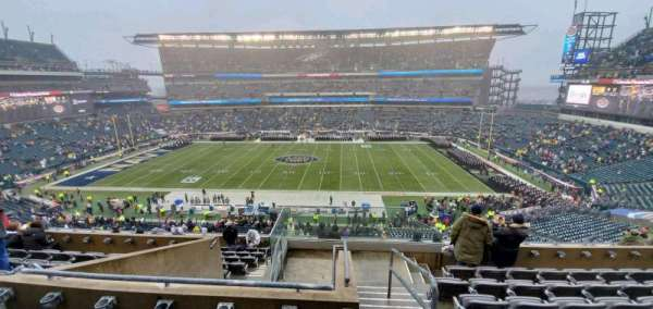 Lincoln Financial Field, sección: C22, fila: 12, asiento: 1