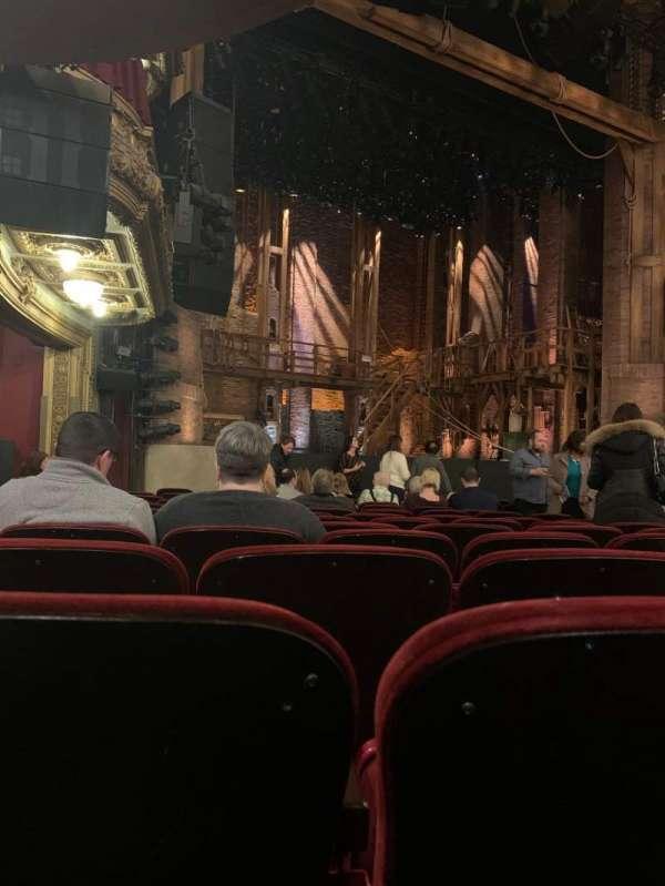 CIBC Theatre, sección: Orchestra L, fila: N, asiento: 19