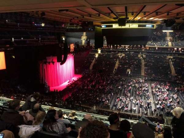 Madison Square Garden, sección: 224, fila: 10, asiento: 17