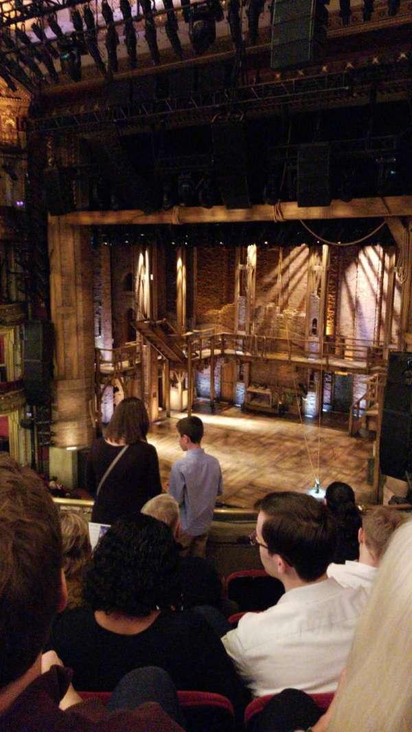 CIBC theatre, sección: Mezzanine R, fila: E, asiento: 10