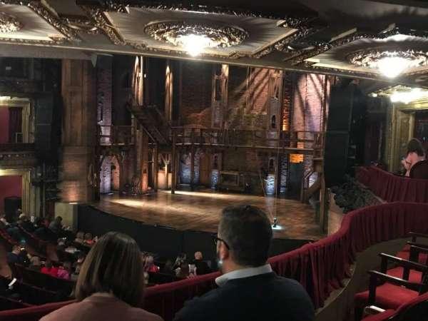 CIBC Theatre, sección: Dress Circle R, fila: C, asiento: 8