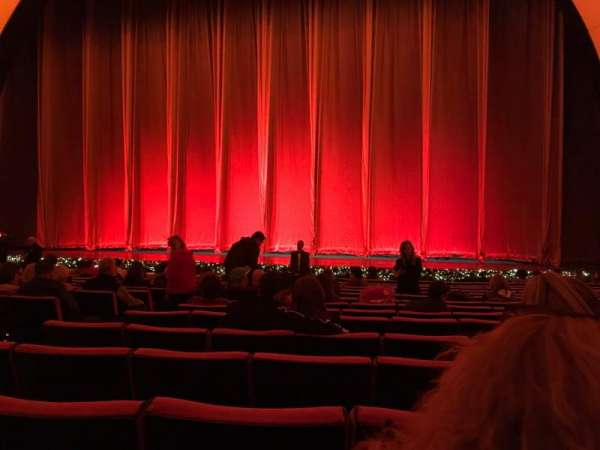 Radio City Music Hall, sección: Orchestra 3, fila: PP, asiento: 310