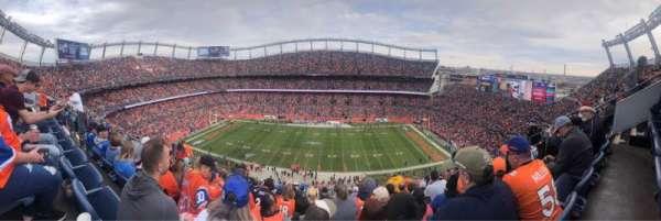 Empower Field at Mile High Stadium, sección: 507, fila: 15, asiento: 7