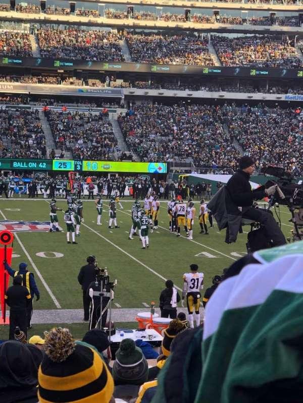 MetLife Stadium, sección: 139, fila: 12, asiento: 22