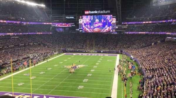 U.S. Bank Stadium, sección: 221, fila: 3, asiento: 19