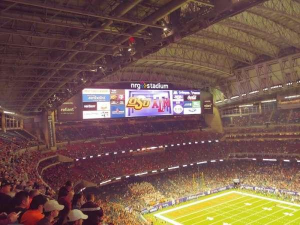 NRG Stadium, sección: 631, fila: K, asiento: 26