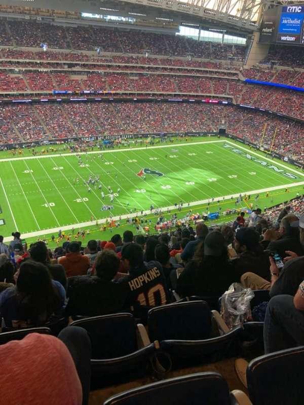 NRG Stadium, sección: 638, fila: S, asiento: 22