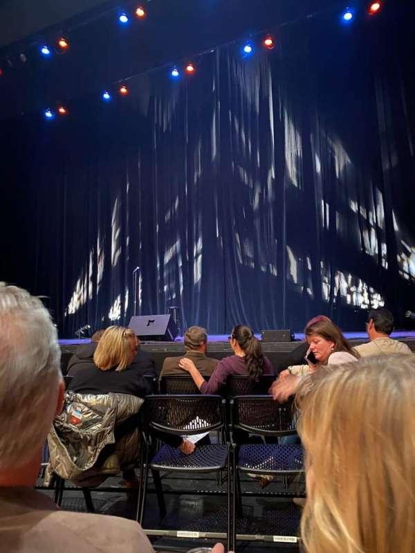 Keller Auditorium, sección: Orchestra D, fila: PB, asiento: 5