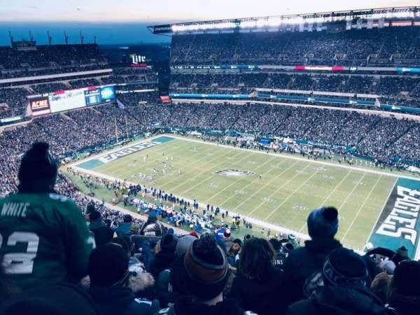 Lincoln Financial Field, sección: 229, fila: 23, asiento: 25-26