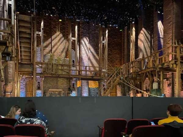 CIBC Theatre, sección: Orchestra L, fila: F, asiento: 1