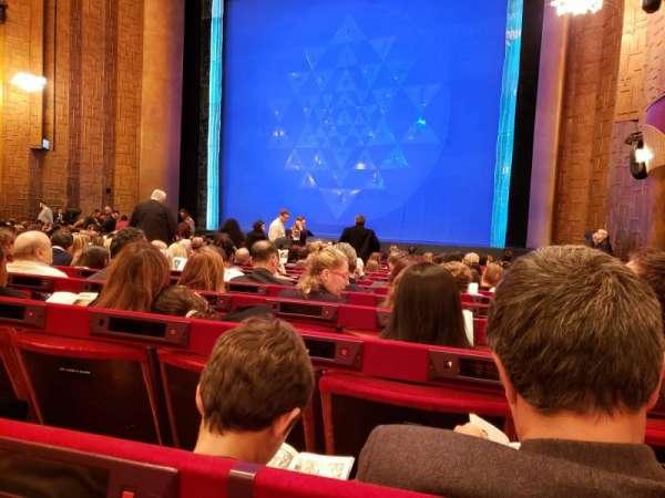 Metropolitan Opera House - Lincoln Center, sección: Orchestra, fila: O, asiento: 20