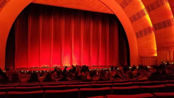 Radio City Music Hall, sección: Orchestra 5, fila: ZZ, asiento: 508