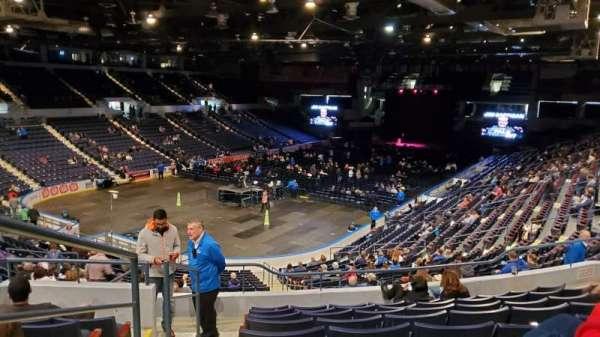 Blue Cross Arena, sección: 218, fila: J, asiento: 13