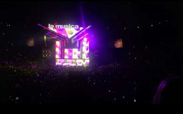 Staples Center, sección: 206, fila: 11, asiento: 8