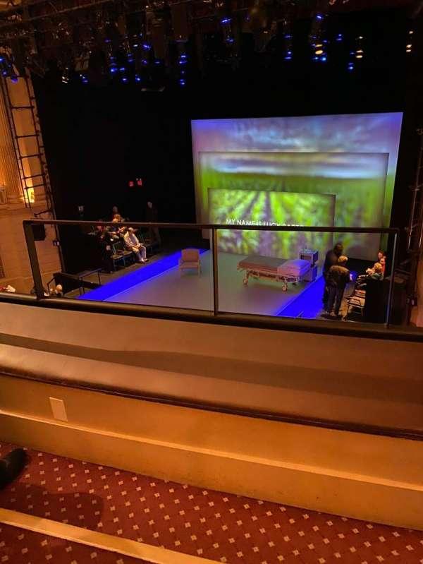 Samuel J. Friedman Theatre, sección: PREMIER CIRCLE R, fila: BB, asiento: 2
