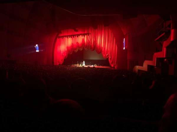 Radio City Music Hall, sección: Orchestra 1, fila: P, asiento: 103
