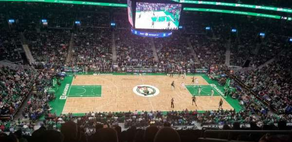 TD Garden, sección: Bal 317, fila: 8, asiento: 5
