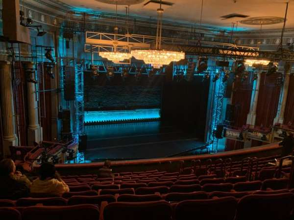 Broadhurst Theatre, sección: Mezzanine, fila: L, asiento: 15