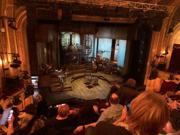 Walter Kerr Theatre, sección: Mezzanine L, fila: G, asiento: 7