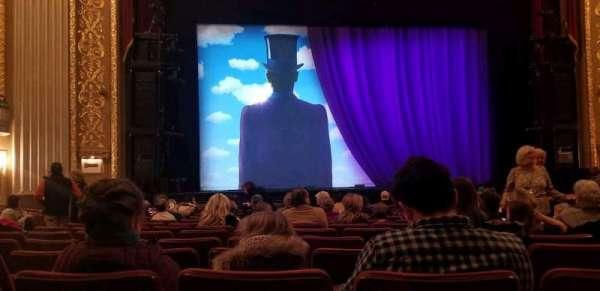Orpheum Theatre (Memphis), sección: Orchlc, fila: p, asiento: 207