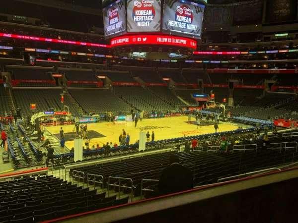 Staples Center, sección: PR16, fila: 2, asiento: 5