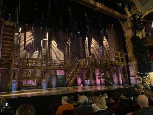 Richard Rodgers Theatre, sección: Orchestra L, fila: F, asiento: 3