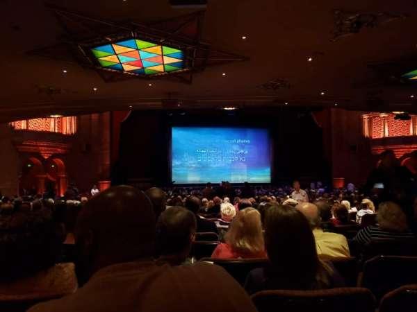 Fox Theatre (Atlanta), sección: Orchestra L, fila: JJ, asiento: 61
