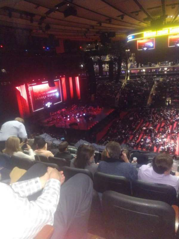 Madison Square Garden, sección: 224, fila: 7, asiento: 16
