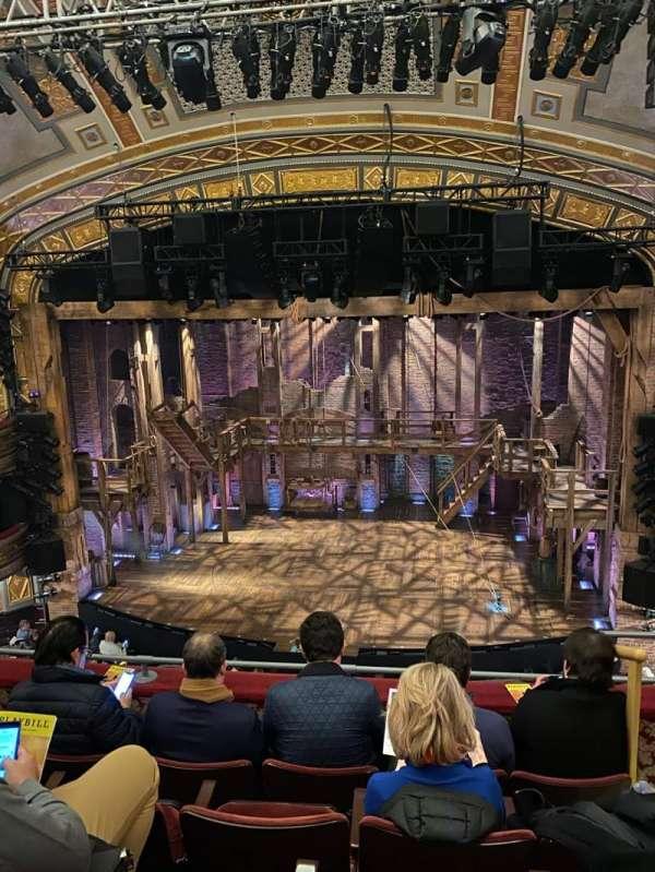 Richard Rodgers Theatre, sección: Front Mezzanine C, fila: E, asiento: 102