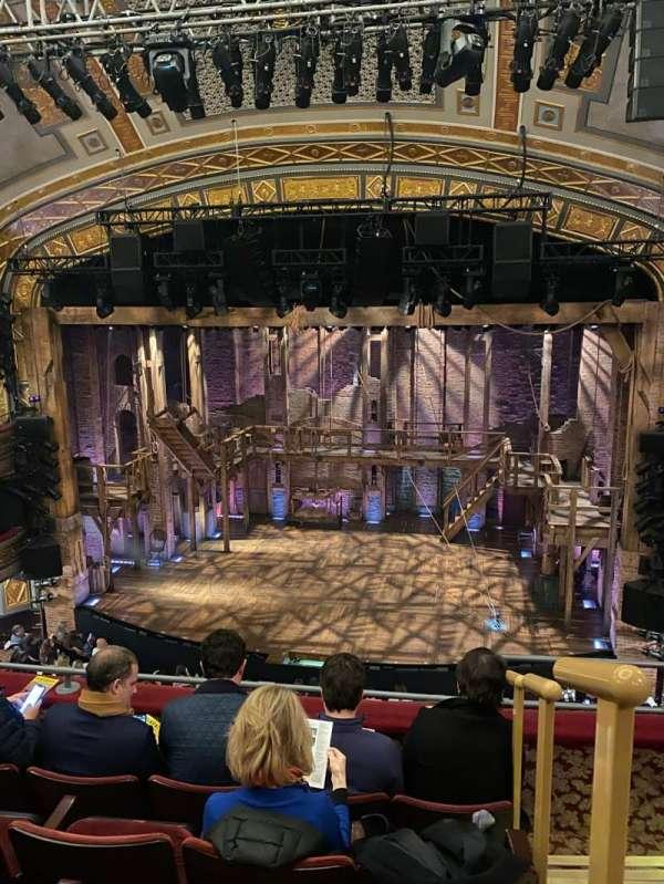 Richard Rodgers Theatre, sección: Front Mezzanine C, fila: E, asiento: 101