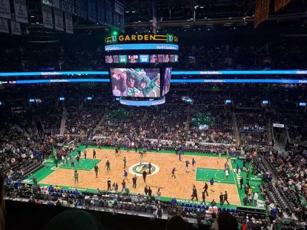 TD Garden, sección: Bal 330, fila: 4, asiento: 10