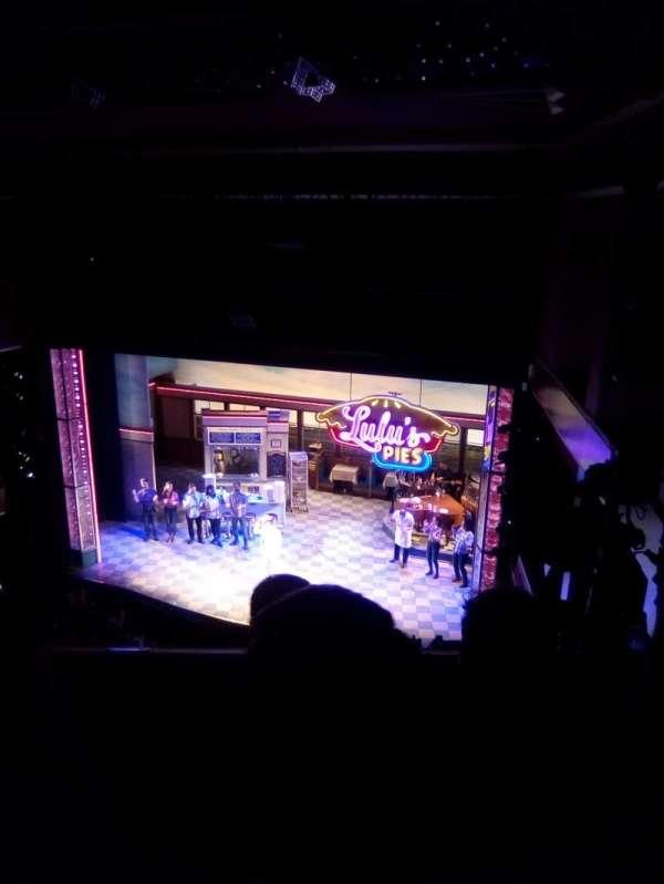 Adelphi Theatre, sección: Upper circle, fila: C, asiento: 8