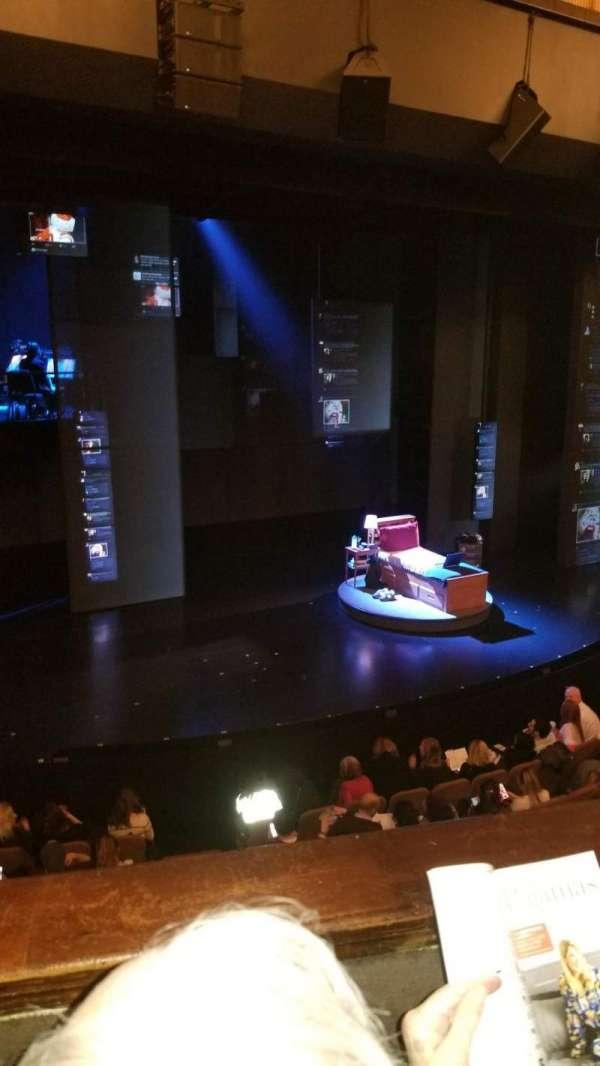 Music Box Theatre, sección: Mezzanine L, fila: B, asiento: 9