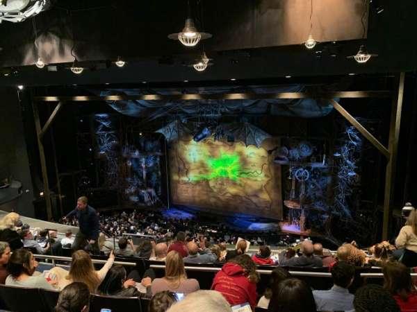 Gershwin Theatre, sección: Rear Mezzanine R, fila: J, asiento: 18