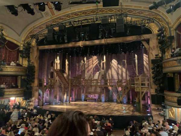 Richard Rodgers Theatre, sección: Orchestra R, fila: P, asiento: 6