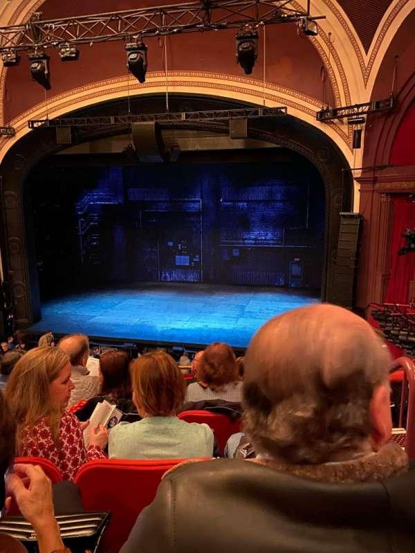 Broadway Theatre - 53rd Street, sección: Front Mezzanine RC, fila: F, asiento: 123